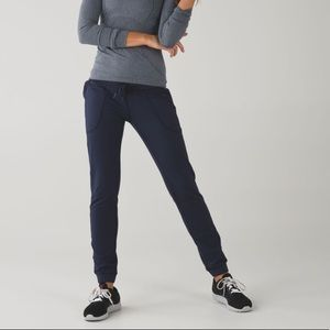 Like New! Lululemon | Blue Base Runner Pant